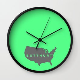 Butthurt Wall Clock