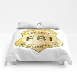 FBI Badge Comforters