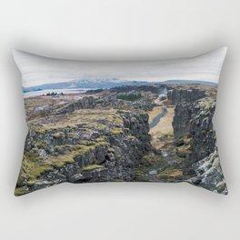 Bláskógabyggð Rectangular Pillow