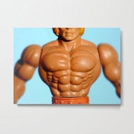He-Men Masters Universe MOTU • 80s Toys Action Figure • Three-Legged Dane Metal Print