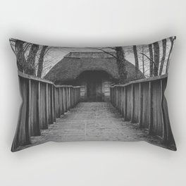 witch's cottage... Rectangular Pillow