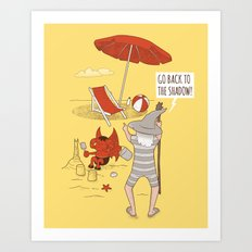 Go back to the Shadow Art Print