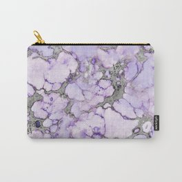 Lavender Marble Carry-All Pouch