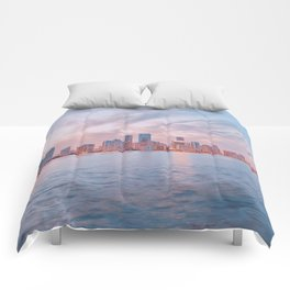 Rickenbacker Causeway / Florida Comforters
