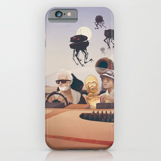 Fear and Loathing on Tatooine iPhone & iPod Case
