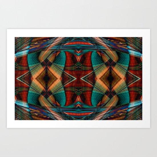 Elegant Gypsy Art Print