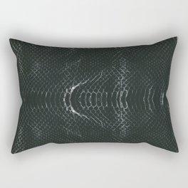 Skin #3_Serpent Black Rectangular Pillow