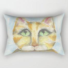 Whisper the Cat Rectangular Pillow