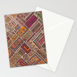 Collage Artwork Stationery Cards