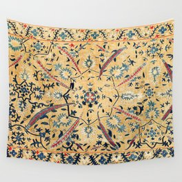 Kermina  Suzani  Antique Uzbekistan Embroidery Print Wall Tapestry