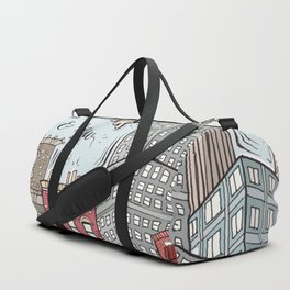 New York - Mix of old and new Duffle Bag