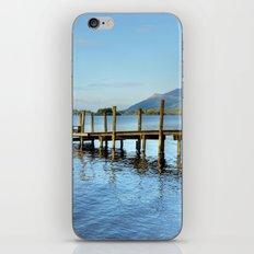 Derwent Water Pier iPhone & iPod Skin