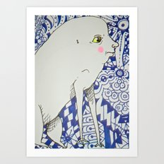 Oh, You! Art Print