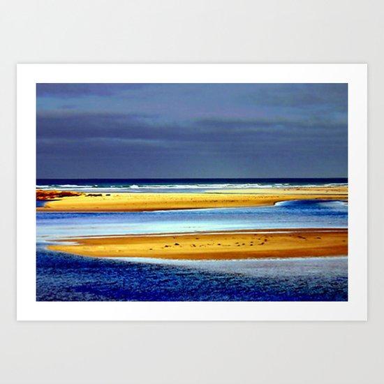Sandbars Art Print