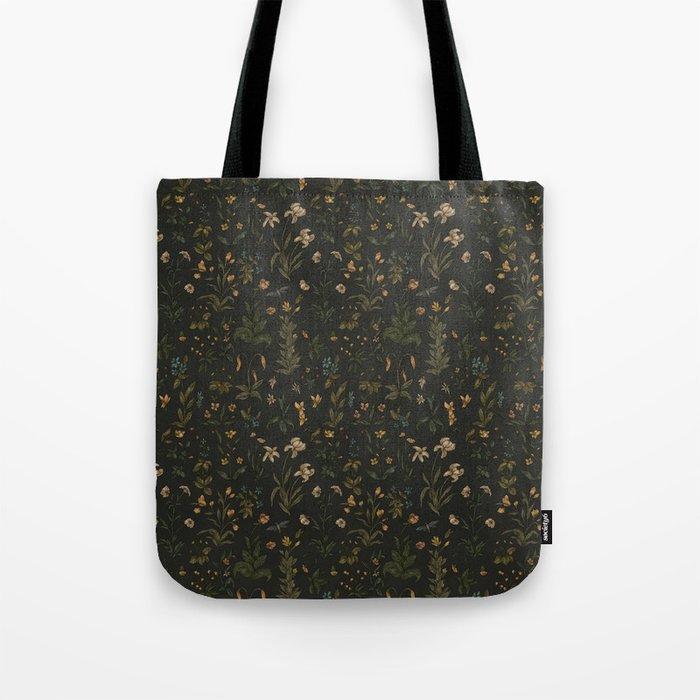 Old World Florals Tote Bag