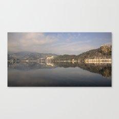 Beautiful Bled Canvas Print