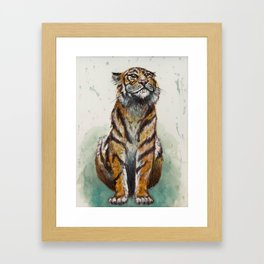 Queen of the Jungle Framed Art Print