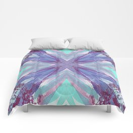 Watercolor Abstract Comforters