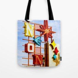 Neon Boneyard Tote Bag