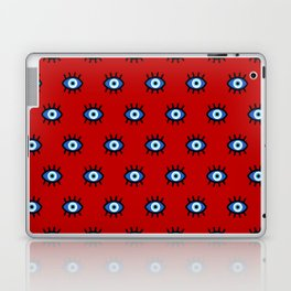 Evil Eye on Red Laptop & iPad Skin