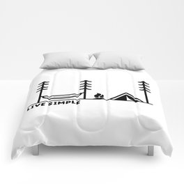 Live Simple Comforters