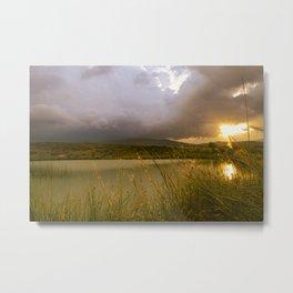 Landscape with lake (Paisaje con lago) Metal Print