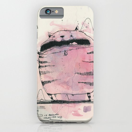 ambitious cat iPhone & iPod Case