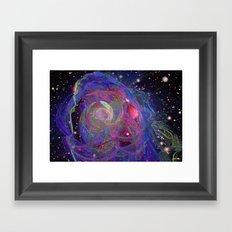 The Expanding Universe Framed Art Print
