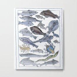 Fishy business, beasties Metal Print