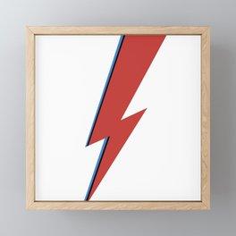 Bowie Bolt Framed Mini Art Print