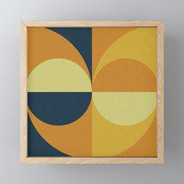 Geometry Games Framed Mini Art Print