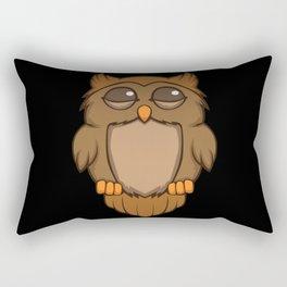 Cute sleeping owl Rectangular Pillow