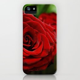 Crimson iPhone Case