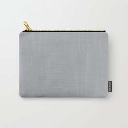 Gray Day - Solid Color Collection Carry-All Pouch
