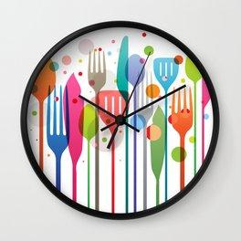 Color Feast Wall Clock