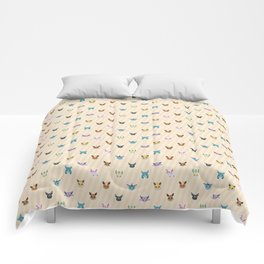 Colorful Pockt Friends Comforters