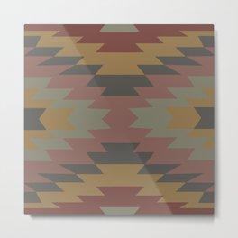 American Native Pattern No. 189 Metal Print