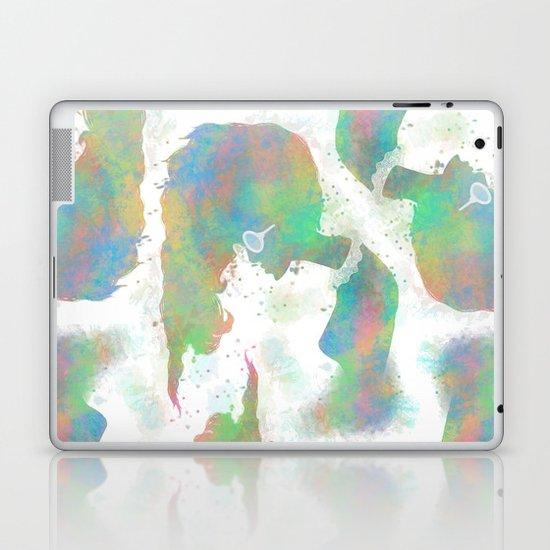 Pastel Silhouette Laptop & iPad Skin
