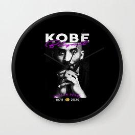 KobeBryant 1978-2020 Wall Clock