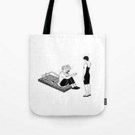 Love Trap Tote Bag