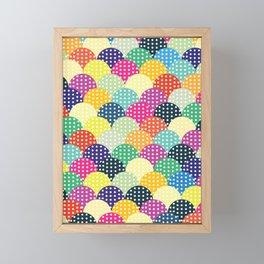 Colorful Circles III Framed Mini Art Print