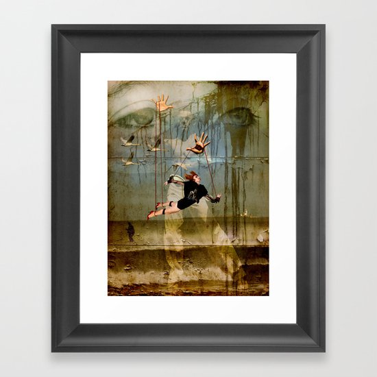 You can fly Framed Art Print