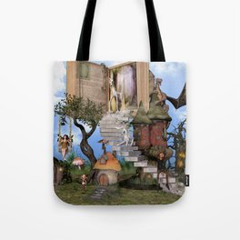 Bringing stories to life Tote Bag