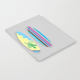 Four Surfboards Notebook