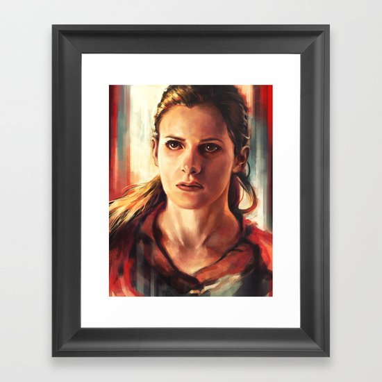 Molly Hooper Framed Art Print