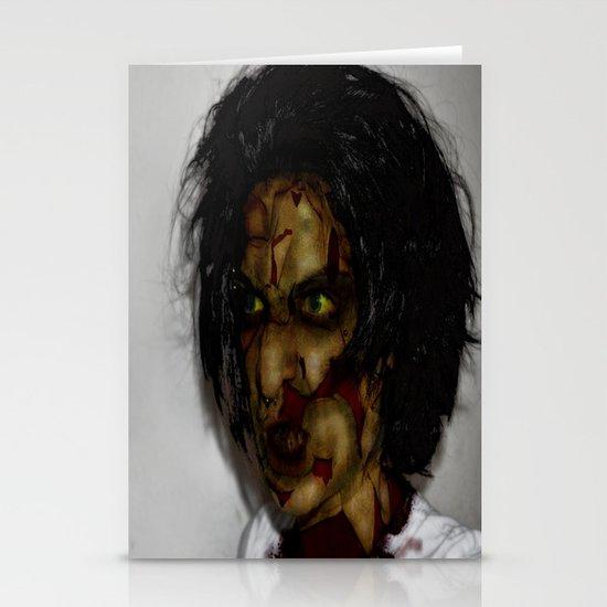 Zombie!!  Stationery Cards