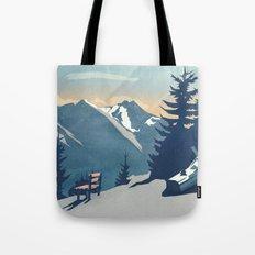 Mountain Sunrise (Pause II) Tote Bag
