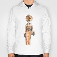 fashion illustration Hoodies featuring Fashion Illustration by Svitlana M