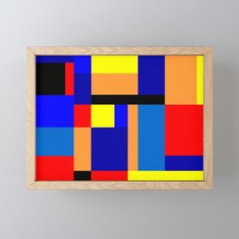 Mondrian #2 Framed Mini Art Print