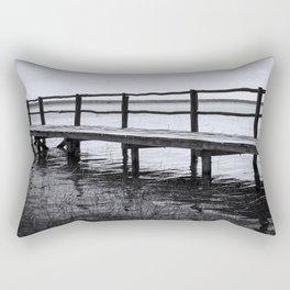 Bacalar Pier Rectangular Pillow